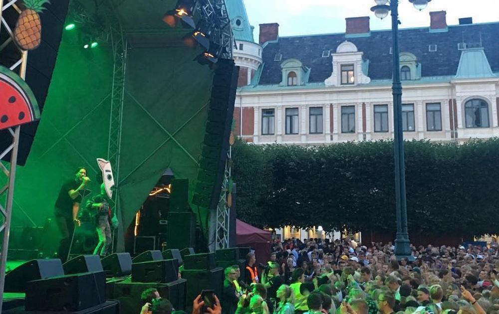 Kling & Freitag till fyra scener på Landskronakarnevalen