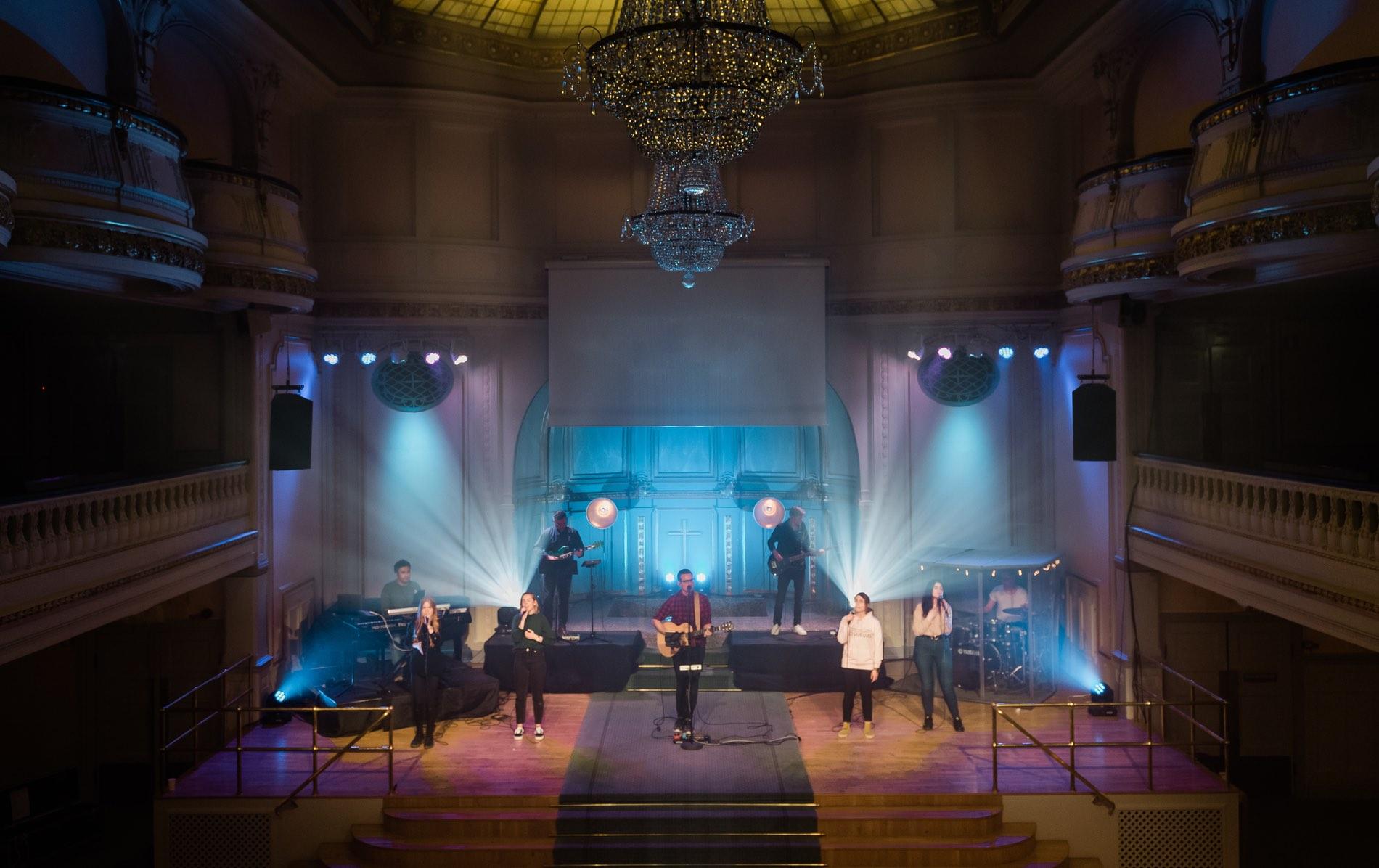 Citykyrkan i Stockholm installerar K&F SPECTRA