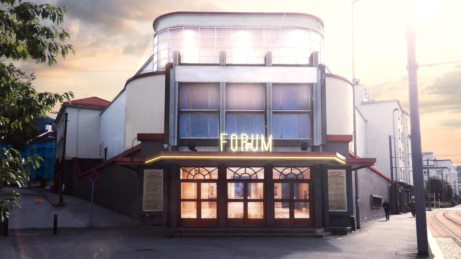 K&F SONA 8 till Forum i Bergen